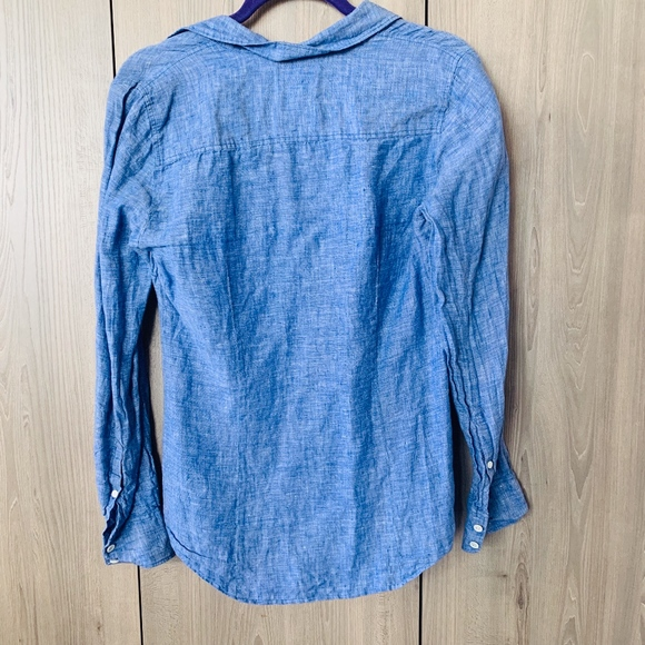 J. Crew Tops - J. Crew Women's Linen Button Up Sz 6